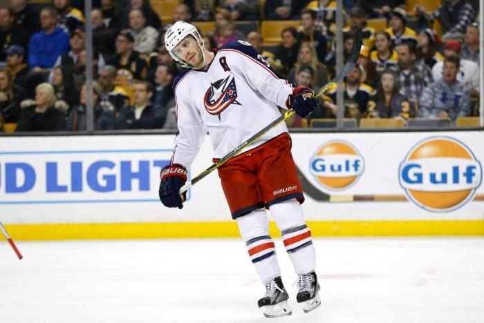 NHL: FEB 22 Blue Jackets at Bruins